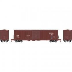 HO 50' Combo door box Car Milw 14119_57664
