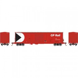 HO 50' Combo door box Car CP Rail 200111_57666