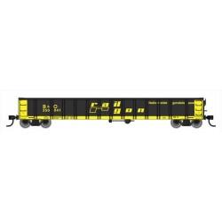 HO 53' Railgon Gondola - B&O 350366 b_57684