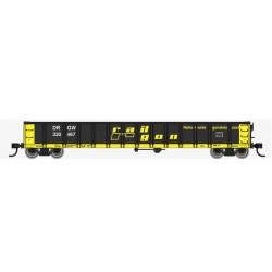 HO 53' Railgon Gondola - D&RGW 320452_57694