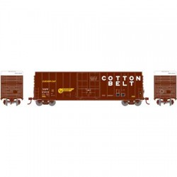 HO 50'  Plug Door box car Cotton Belt 24344_57717