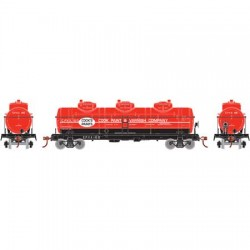 HO 3-Dome Tank Car Cook Paint & Varnish 100_57746