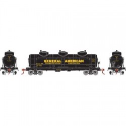HO 3-Dome Tank Car General American Tank Car 589_57748