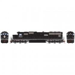 HO SD70 Illinois Central White Stripe 1006 DCC/S_57821