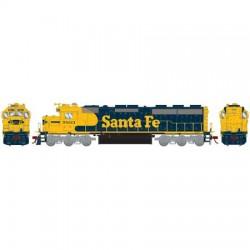 HO SD45-2 Santa Fe 5838 (DC)_57828
