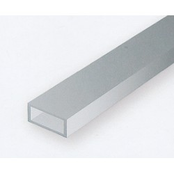 Polystyrol Rohr rechteckig 35cm_57844