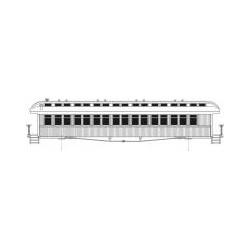 O-356 50' Open Platform Coach SOO Line_58011