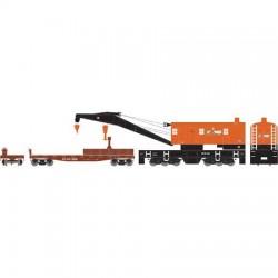 HO 200-Ton Crane Norfolk Southern_58299