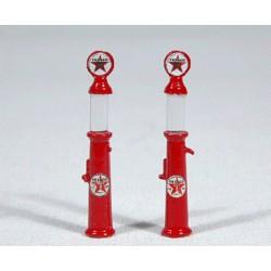 361-934 HO Custom Gravity-Feed Gas Pump Texaco pkg_58304