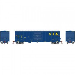 HO 50' PS 5277 Box Car CSX 142870_58337