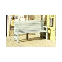 O Station Benches (2) kit - Bausatz - Holz_58343