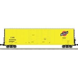 N 53' Evans dbl plug door box car C&NW 600523_58501