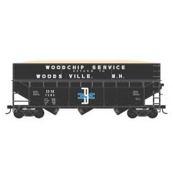 HO 70t wood chip hopper Boston & Maine 7505_58525