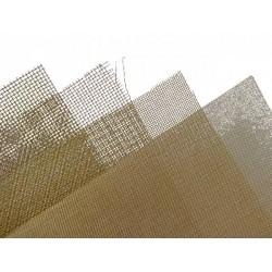 Messingdraht Gitter No 35 Masche 0,5 100 x 150 mm_58591