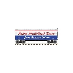 HO 40' Wood Reefer Rath's Black Hawk Bacon 472_58615