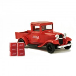 0 1/43 1934 Ford Model A Pick up with 6 Bottle car_58646