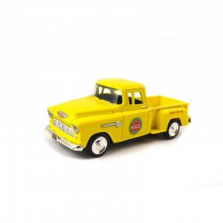 0 1/43 1955 Chevy Pickup Stepside Yellow_58653