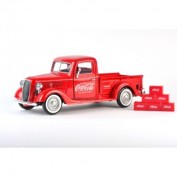 1/24 1937 Ford Pick up with 6 bottle cartons_58657