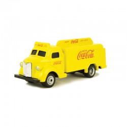 HO 1/87 1947 Coca Cola Bottle Truck yellow_58669