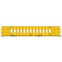HO 72' Centerbeam Flat Car Trailer Train 86366_58696