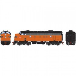 HO F7B Milwaukee Road 69 C DCC & Sound_58760