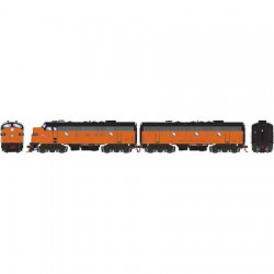 HO F7A/B Milwaukee Road 118A /118B  DCC & Sound_58763