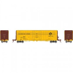 HO 50' PC&F plug box car Western Fruit Ex. 64558_58767