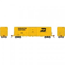 HO 50' PC&F plug box car Burlington Northern 64550_58772