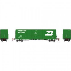 HO 50' PC&F plug box car Burlington Northern749237_58777