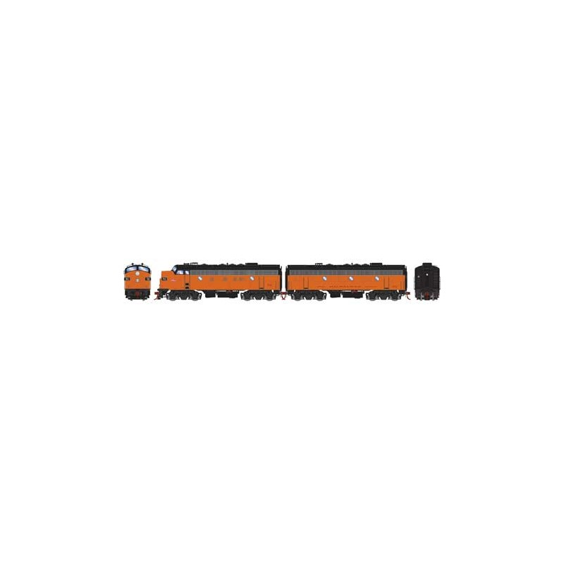 HO F7A/B Southern Pacific 6382 / 8295 DCC & Sound_58827
