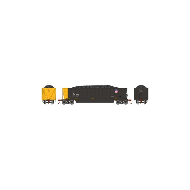 HO Bathtub Gondola w/Load Union Pacific 35008_58873