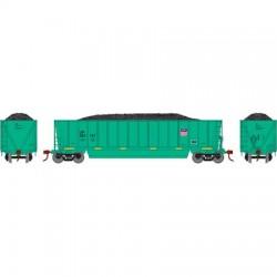 HO Bathtub Gondola w/Load Union Pacific 925151_58875