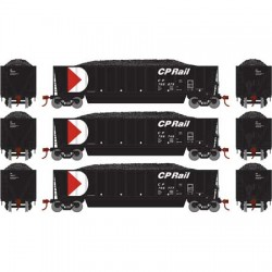 HO Bathtub Gondola w/Load CP Rail (3) Set 2_58899