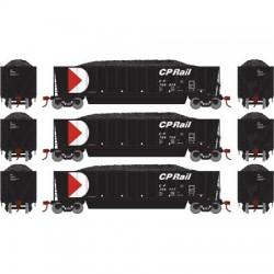 HO Bathtub Gondola w/Load CP Rail (3) Set 3_58900