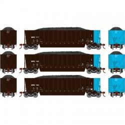HO Bathtub Gondola w/Load Sultran (3) Set 2_58922
