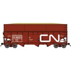 N 3-Bay offset Wood Chip Hopper CN (2 Wagen)_58996