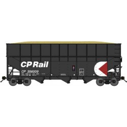 N 3-Bay offset Wood Chip Hopper CP Rail (1 Wagen)_58999