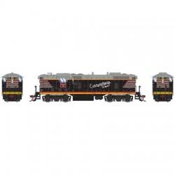 HO EMD GP7 CB&Q black 218 DC_59025