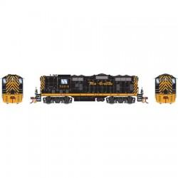 HO EMD GP7 CB&Q black 250 DC_59028