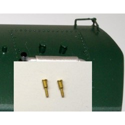 HO F Unit Steam Generator Exhaust Stacks (2) Brass_59045