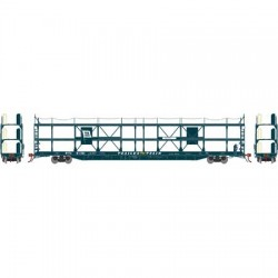 HO F89-F Tri-Level Auto Rack, Wabash 911381_59269