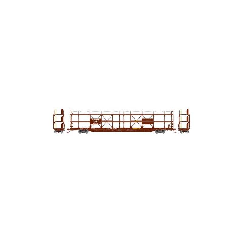 HO F89-F Tri-Level Auto Rack, Cotton Belt 84549_59273
