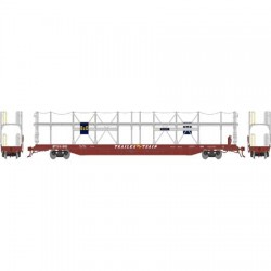 HO F89-F Bi-Level Auto Rack, B&O BTTX 911888_59278