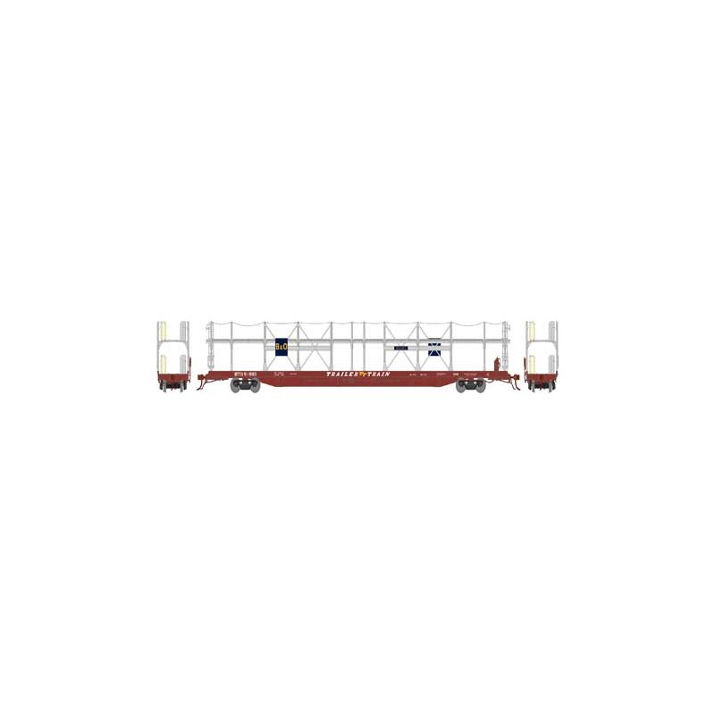 HO F89-F Bi-Level Auto Rack, B&O BTTX 911888_59278