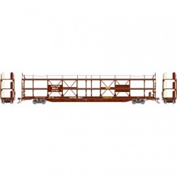 HO F89-F Tri-Level Auto Rack, Cotton Belt 84634_59286