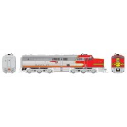 HO PA-1 Santa Fe single DC Version # 52L_59383
