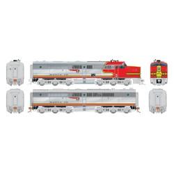 HO PA-1 + PB-1 Santa Fe 59L & 59A DC Version_59404
