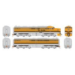 HO PA-1 + PB-1 D&RGW 600C & 600B DC/DCC/Sound (Cop_59438