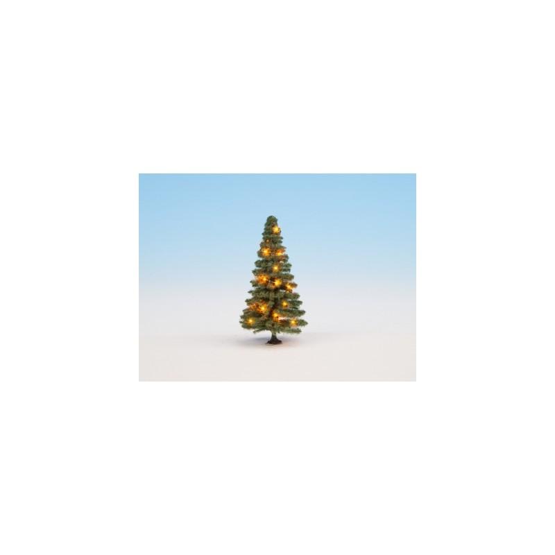 HO Beleuchteter Weihnachtsbaum 5cm, 10 LED's_59569