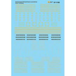 HO Steam Locomotive - Dulux Lettering - Waterslide_59596